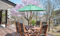 Altitude Hakuba Outdoor Seating | Hakuba, Nagano | Ministry of Chalets