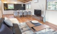 Bluebird Chalets Living and Dining Room | Hakuba, Nagano | Ministry of Chalets