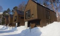 Gakuto Villas Outdoor Area   Hakuba, Nagano   Ministry of Chalets