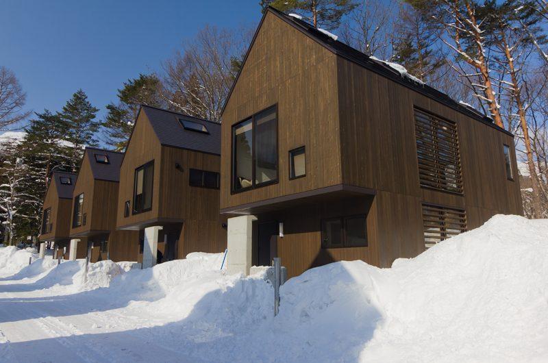 Gakuto Villas Outdoor Area | Hakuba, Nagano | Ministry of Chalets