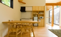 Gakuto Villas Kitchen and Dining Area   Hakuba, Nagano   Ministry of Chalets