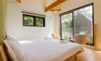 Gakuto Villas Twin Bedroom with View | Hakuba, Nagano | Ministry of Chalets