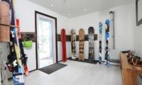 Hakuba Slopeside Chalet Ski Room | Hakuba, Nagano | Ministry of Chalets
