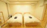 Maki Cottage Twin Bedroom | Hakuba, Nagano | Ministry of Chalets
