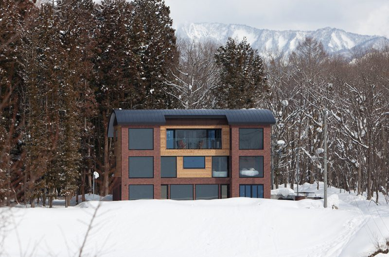 One Happo Chalet Exterior View   Hakuba, Nagano   Ministry of Chalets