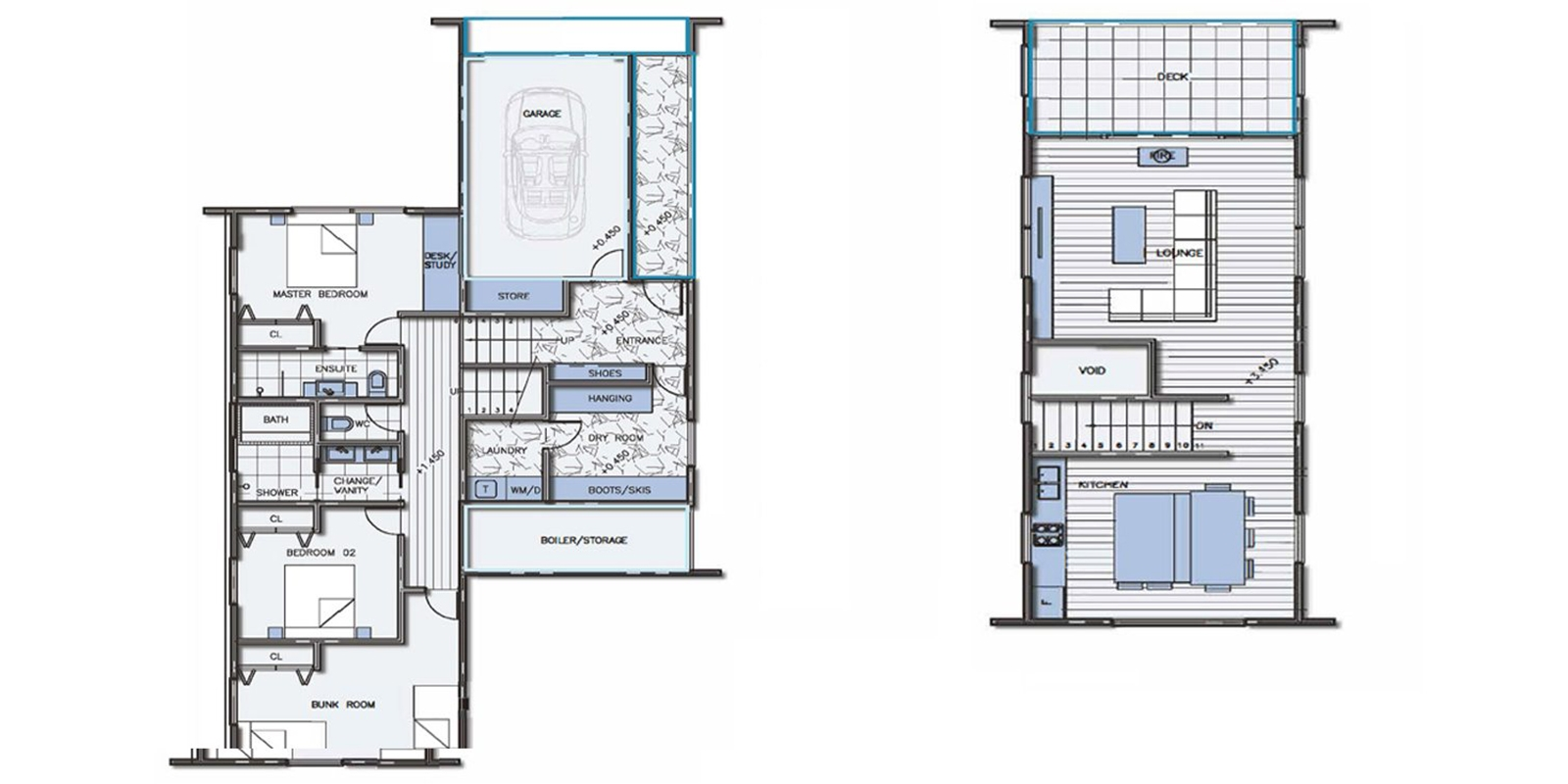 Phoenix Cacoon Floor Plan | Hakuba, Nagano | Ministry of Chalets