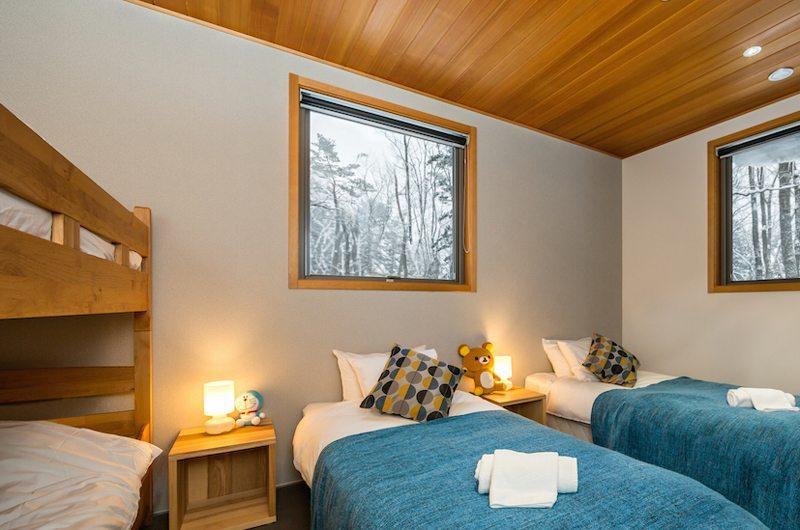 Phoenix Cocoon Twin Bedroom | Hakuba, Nagano | Ministry of Chalets