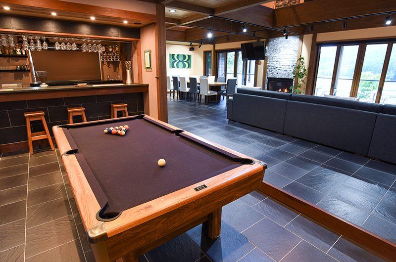 Powderhouse Pool Table | Hakuba, Nagano | Ministry of Chalets