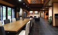 Powderhouse Dining and Living Area | Hakuba, Nagano | Ministry of Chalets