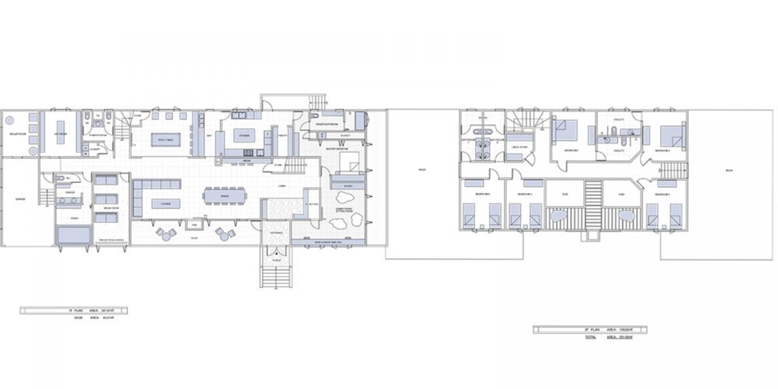 Powderhouse Floor Plan | Hakuba, Nagano | Ministry of Chalets