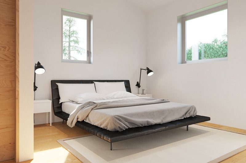 Solar Chalets Bedroom | Hakuba, Nagano | Ministry of Chalets