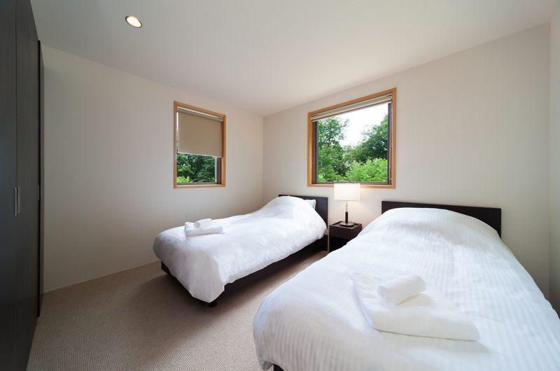 Solar Chalets Twin Bedroom | Hakuba, Nagano | Ministry of Chalets