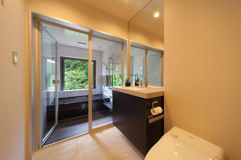 Solar Chalets Bathroom | Hakuba, Nagano | Ministry of Chalets