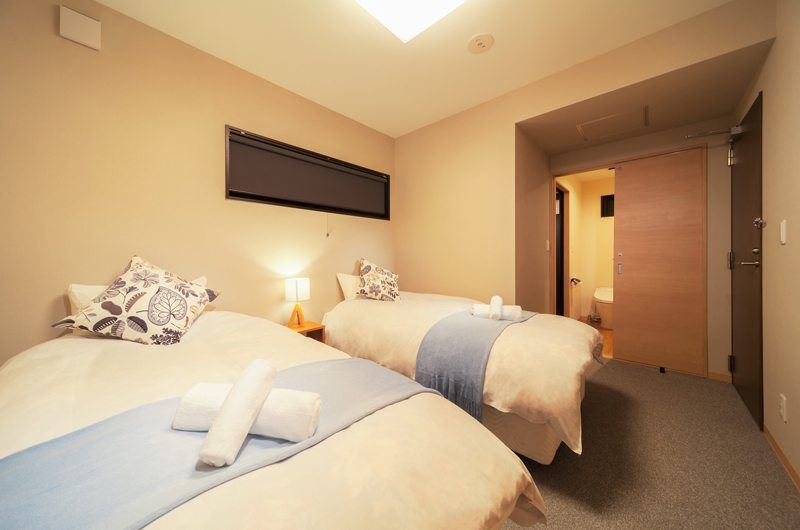 Wadano Woods Twin Beds | Hakuba, Nagano | Ministry of Chalets