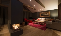 Akatsuki Family Area with Fireplace | Middle Hirafu Village, Niseko | Ministry of Chalets