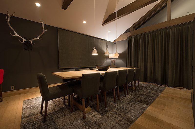 Akatsuki Dining Table | Middle Hirafu Village, Niseko | Ministry of Chalets