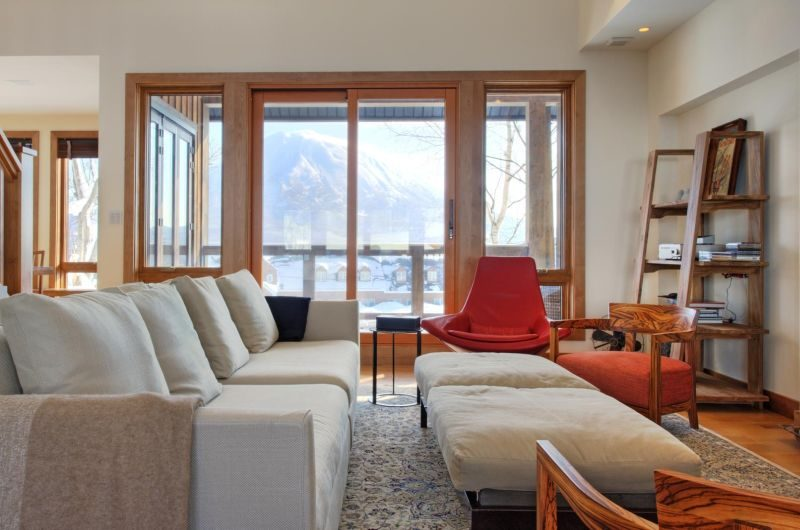Annabel Living Room | Annabel, Niseko | Ministry of Chalets