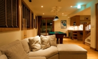 Annabel Living Area with Pool Table | Hirafu, Niseko | Ministry of Chalets