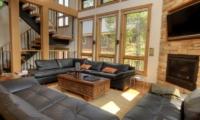 Asahi Lodge Living Area with TV | Hirafu, Niseko | Ministry of Chalets