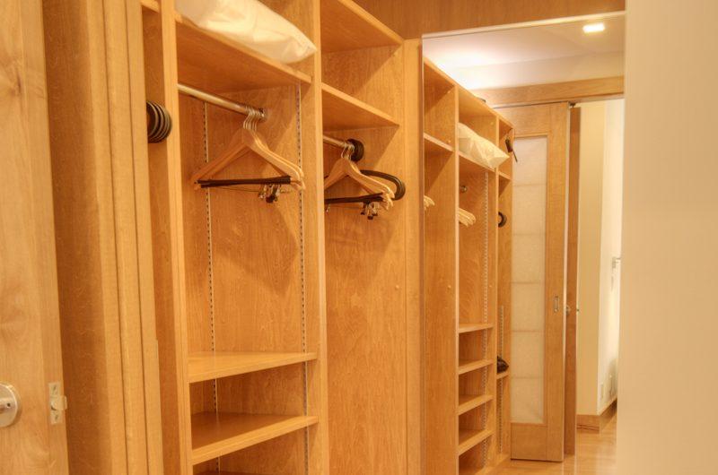 Asahi Lodge Walk-In Wardrobe | Hirafu, Niseko | Ministry of Chalets