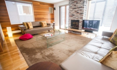 Ezo Yume Living Room | Lower Hirafu Village, Niseko | Ministry of Chalets