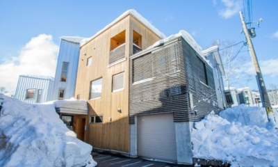 Ezo Yume Entrance | Lower Hirafu Village, Niseko | Ministry of Chalets