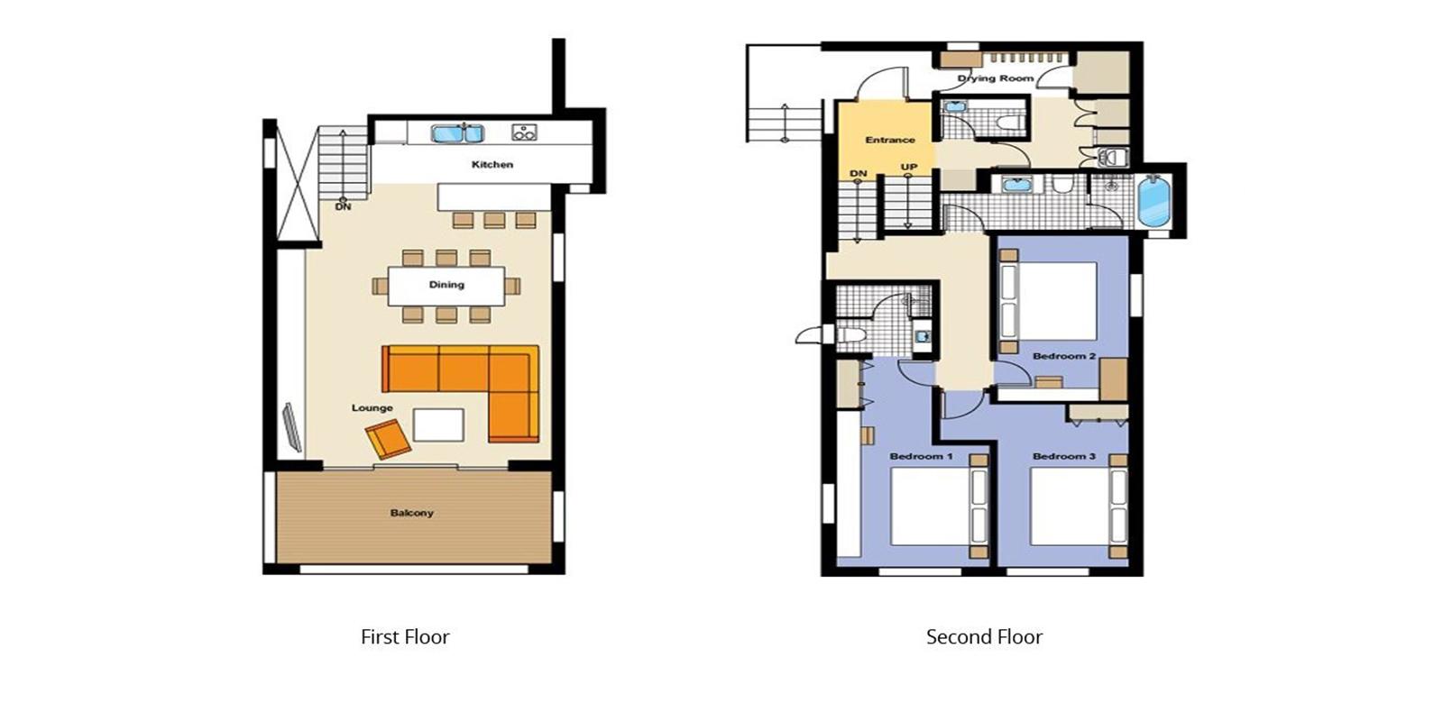 Forest Estate Floor Plan | Hirafu, Niseko | Ministry of Chalets