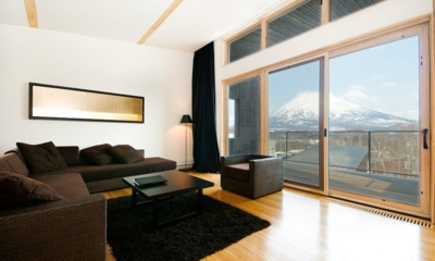 Forest Estate Living Area | Middle Hirafu Village, Niseko | Ministry of Chalets