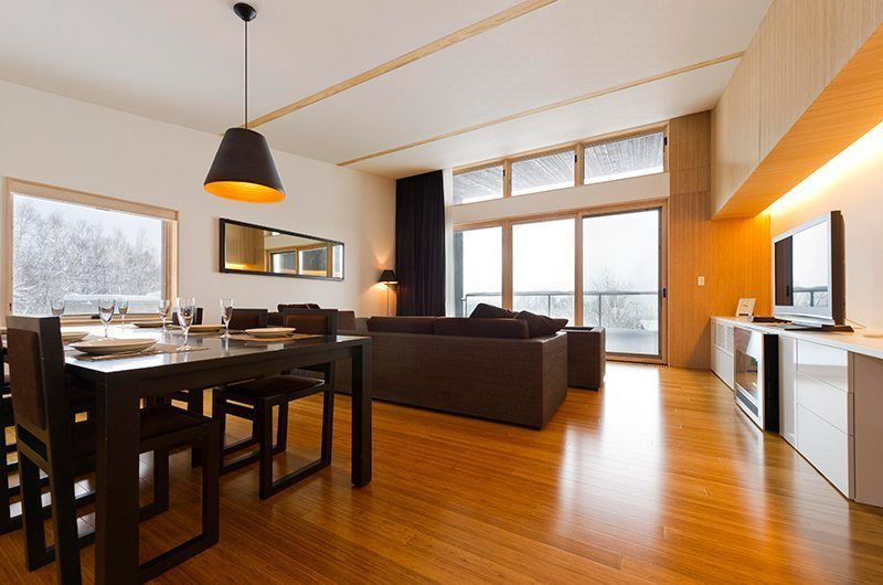 Forest Estate Dining Area | Middle Hirafu Village, Niseko | Ministry of Chalets
