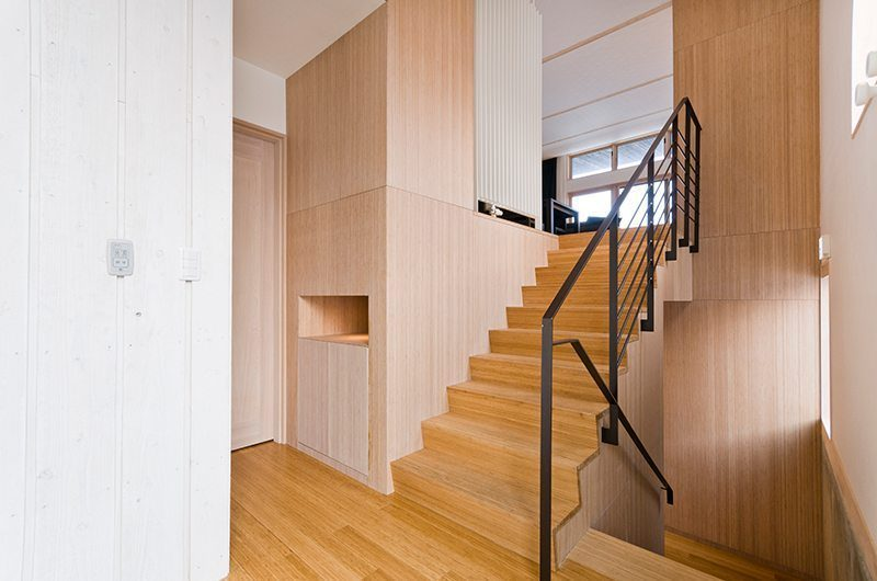 Forest Estate Stair Case | Middle Hirafu Village, Niseko | Ministry of Chalets