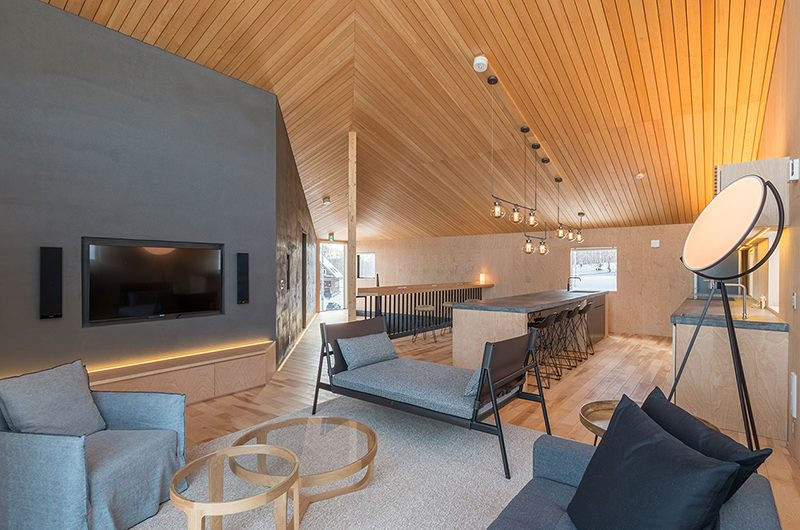 Foxwood Living Room | Hirafu, Niseko | Ministry of Chalets