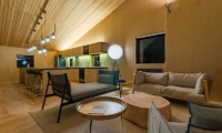 Foxwood Living and Dining Area | Hirafu, Niseko | Ministry of Chalets