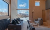 Foxwood Living Area with Views | Hirafu, Niseko | Ministry of Chalets