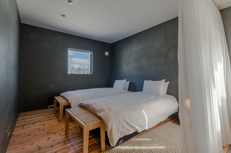 Foxwood Twin Bedroom | Hirafu, Niseko | Ministry of Chalets