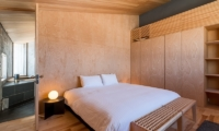 Foxwood Bedroom with Lamp | Hirafu, Niseko | Ministry of Chalets