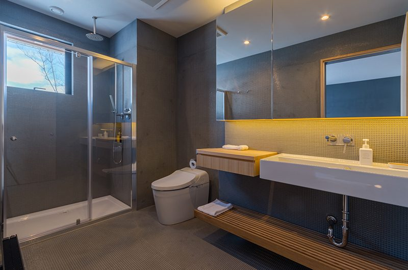 Foxwood Bathroom with Shower | Hirafu, Niseko | Ministry of Chalets