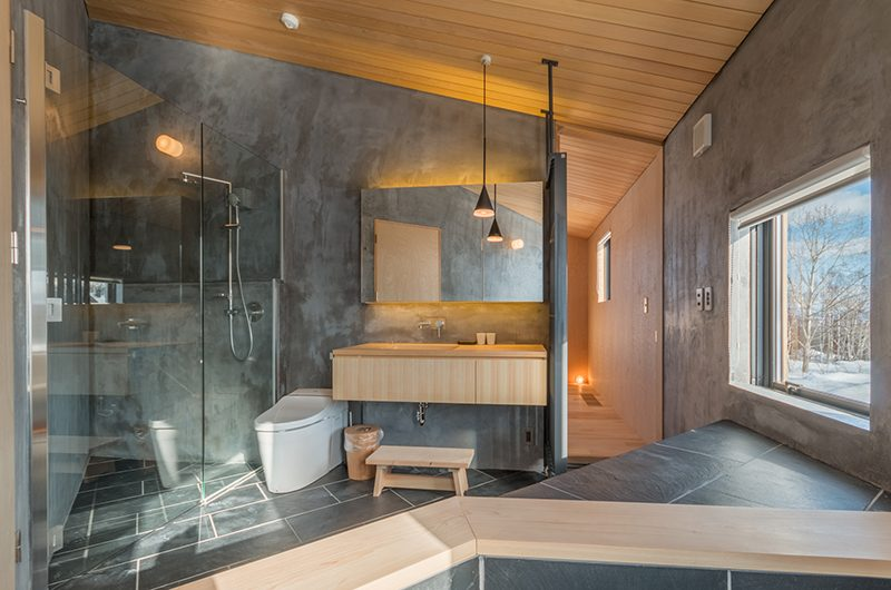 Foxwood Bathroom | Hirafu, Niseko | Ministry of Chalets