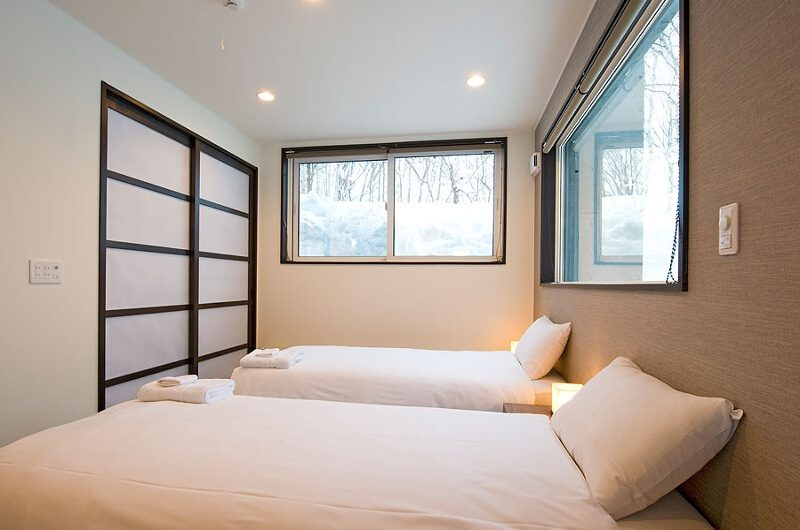 Fubuki Twin Bedroom | Hirafu, Niseko | Ministry of Chalets
