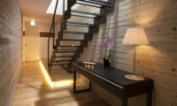 Glass House Staircase | Lower Hirafu Village,  Niseko | Ministry of Chalets