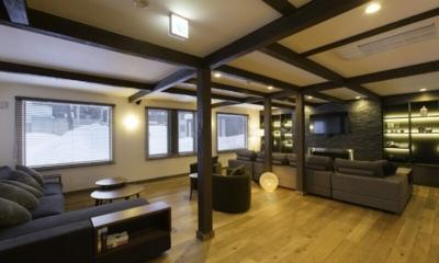 Greystone Lounge Room | Hirafu, Niseko | Ministry of Chalets