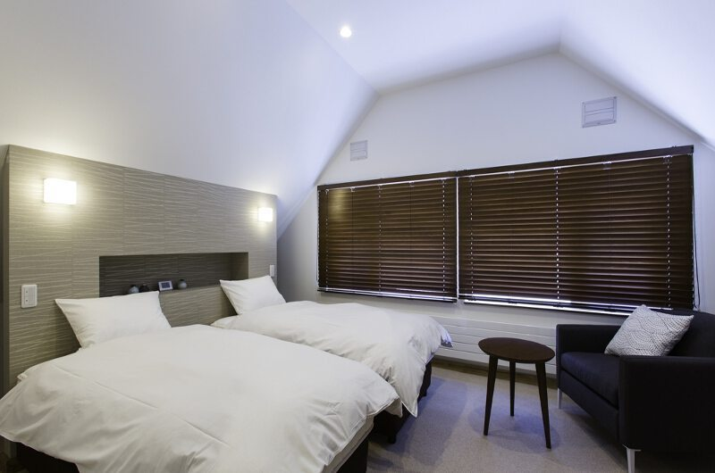 Greystone Twin Bedroom | Hirafu, Niseko | Ministry of Chalets