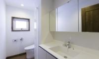 Greystone Bathroom Wash Basin | Hirafu, Niseko | Ministry of Chalets