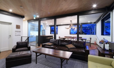 Gustav's Hideaway Living Room | Lower Hirafu Village, Niseko | Ministry of Chalets