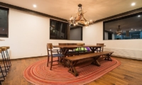 Gustav's Hideaway Dining Area | Lower Hirafu Village, Niseko | Ministry of Chalets