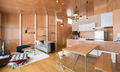 Heiwa Lodge Living And Dining Area | St Moritz, Niseko | Ministry of Chalets