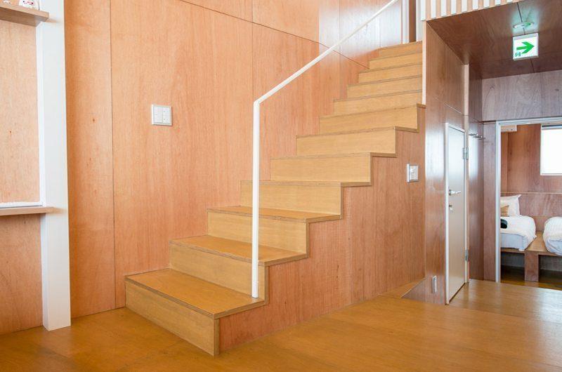 Heiwa Lodge Stair Case | St Moritz, Niseko | Ministry of Chalets