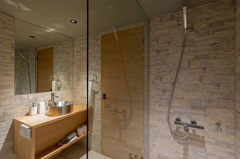 Hideaway on Escarpment Bathroom with Shower | Hirafu, Niseko | Ministry of Chalets