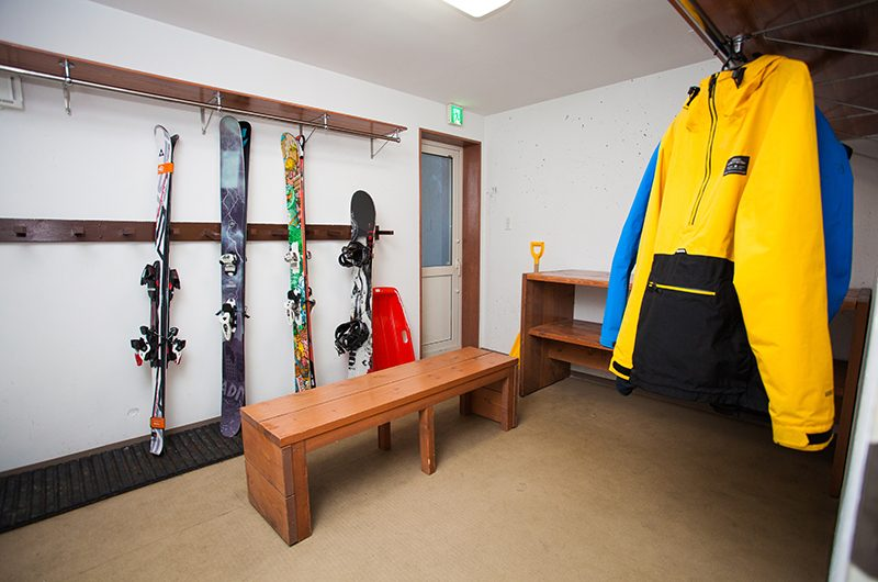 Itoku Equipment Area | Hirafu, Niseko | Ministry of Chalets