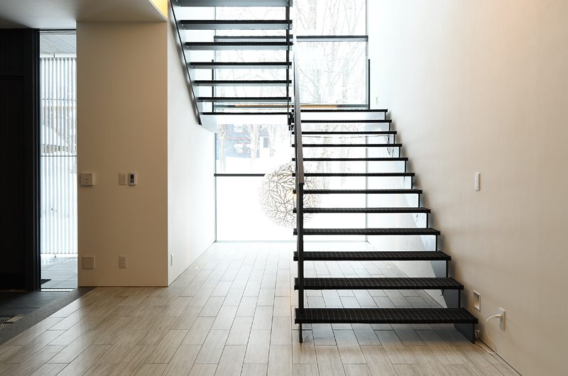 Jun Stairway | Hirafu, Niseko | Ministry of Chalets