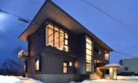 Jun Building Night View | Hirafu, Niseko | Ministry of Chalets